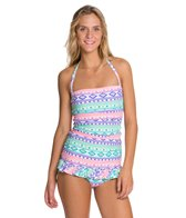 Coco Rave Forever & Ever Bandeau Swim Dress