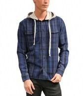 Quiksilver Men's Wildhorn Hooded L/S Shirt