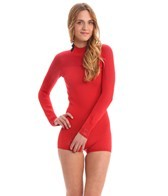 Body Glove Women's Smoothies 2MM Back Zip L/S Spring Suit