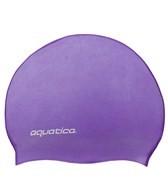 Aquatica Kid's Solid Silicone Swim Cap