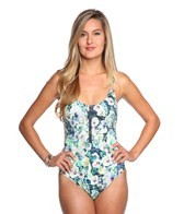 Nanette Lepore Hula Hibiscus Goddess One Piece