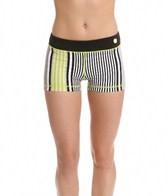 Trina Turk Stripe Hype Active Shorts
