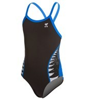 TYR Shark Bite Youth Diamondfit One Piece