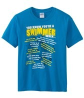 Image Sport Youth 'You Know You're a Swimmer When' T-Shirt