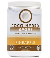 CocoHydro Pineapple Sport Coconut Water Electrolyte Drink Mix 16.9 oz