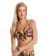 Seafolly Honolua Tie Front Push-Up Top