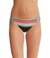 Trina Turk Plumas Shirred Side Hipster Bottom