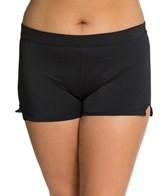 UJENA Plus Size High Waisted Boy Shorts