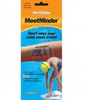 Take Your Mark MeetMinder Swim Meet Event Tracking Temporary Tattoo