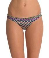 EQ Swimwear Retro Flames Poly Streamline Bikini Bottom