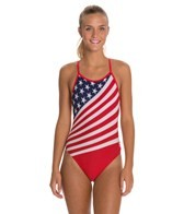 TYR American Flag Female Crosscutfit