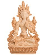 Yak & Yeti White Tara Statue