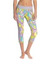 Trina Turk Lava Lamp Capri Leggings