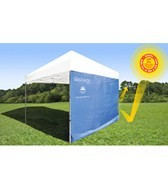 ezShade 8' Canopy Curtain Straight Leg