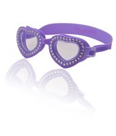 Bling2O Girls' Summer Love Solid Swim Goggles