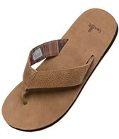 Sanuk Men's Burro Down Flip Flop