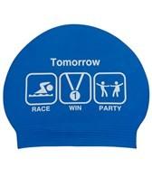 Sporti Win Latex Swim Cap