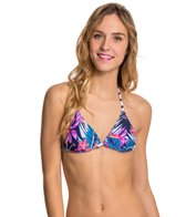 Roxy Tropical Daydream Reversible Tiki Triangle Top