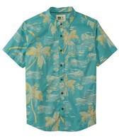 Reef Men's Blurry Palms S/S Shirt