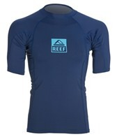 Reef Men's Logo Rash 3 S/S Rashguard