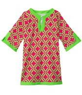 Cabana Life Girls' Preppy In Pink Tunic (2-6)