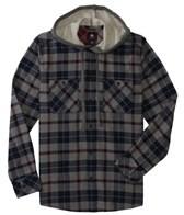Quiksilver Men's Puffer Hooded L/S Shirt