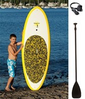 GromSUP Stoke 7'2 Kids Stand Up Paddleboard Package