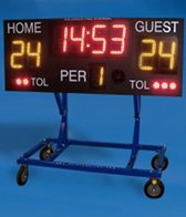 Colorado Time Systems Water Polo Scoreboard
