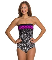 Maxine In The Groove Bandeau One Piece