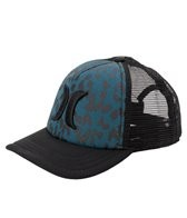Hurley One & Only YC Leopard Trucker Hat