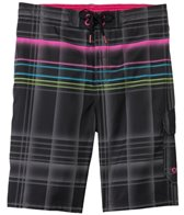 Speedo Men's Engineered Plaid E-Board Short
