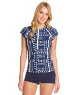 Sperry Top-Sider Women's Float Your Boat S/S Rashguard