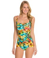 Penbrooke Hot Tropics Glam Girl Leg One Piece
