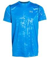 Under Armour Men's coldblack Run Short Sleeve T-Shirt