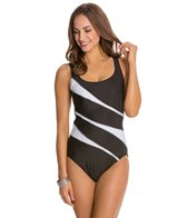 Miraclesuit Helix Underwire U-Neck DD Cup One Piece