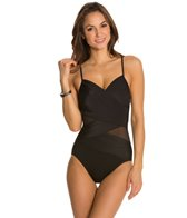 Miraclesuit Net Work Mystify Slated One Piece