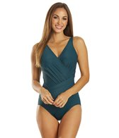 Miraclesuit Solid Oceanus Underwire DD Cup One Piece