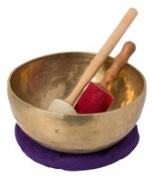 Sacred Space Master Healing Grade: Tibetan Singing Bowl (note G)