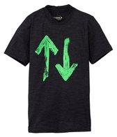 Xcel Boys' Heathered VentX S/S Surf Shirt