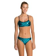 The Finals Funnies Mermaid Workout Bikini Set