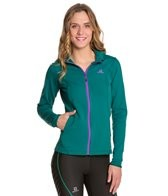 Salomon Women's Discovery Hooded Midlayer Running Fleece