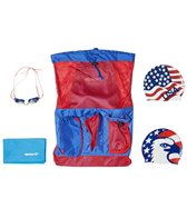 Sporti Red, White, & Blue Swim Gear Gift Set