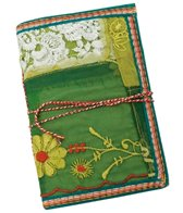 Homeport Textile Notebook, Green