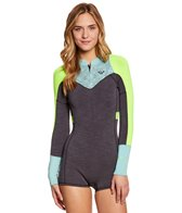 Roxy Women's 2MM XY L/S Front Zip Spring Suit