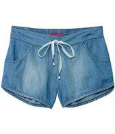 Seafolly Girls Secret Valley Denim Shorts (6-16)