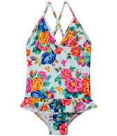 Seafolly Girls Baby Birdie Halter One Piece (2-7yrs)