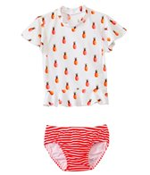 Seafolly Girls Tuttie Cutie Baby UV Sunvest Set (0mos-3yrs)