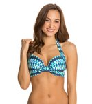 Kenneth Cole Ikat In The Act Underwire D-Cup Top