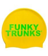 Funky Trunks Gold Silicone Swim Cap