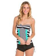 Hobie Surfin' Stripe Tankini Top